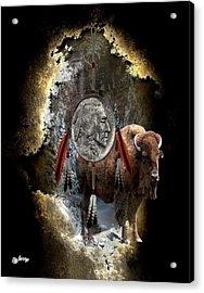 American Indian Dreamcatcher Acrylic Print