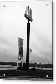 Acrylic Print featuring the photograph American Interstate - Illinois I-55 by Frank Romeo