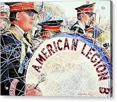 American Legion Acrylic Print by Carolyn Coffey Wallace