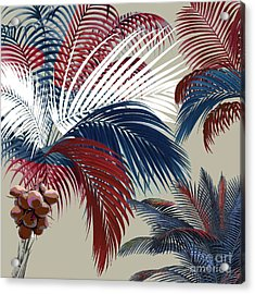 American Palm Acrylic Print by Mindy Sommers
