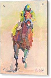 Champion Acrylic Print by Kimberly Santini