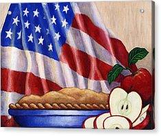 American Pie Acrylic Print by Linda Mears