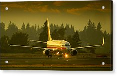 American Ready For Take-off Acrylic Print