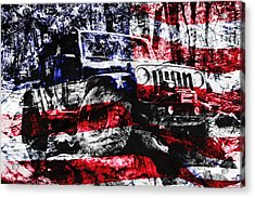 American Rock Crawler Acrylic Print