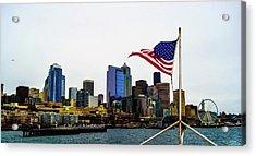 American Seattle Ic Acrylic Print