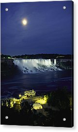 American Side Of Niagara Falls, Seen Acrylic Print by Richard Nowitz