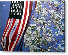 Acrylic Print featuring the painting American Spring by Jim Phillips