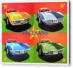 American Veterans Acrylic Print by Dean Glorso