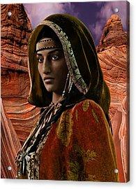American Vision Saint Kateri Tekakwitha Acrylic Print