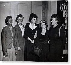 American Women Labor Leaders Acrylic Print by Everett