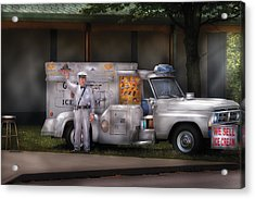 Americana -  We Sell Ice Cream Acrylic Print by Mike Savad