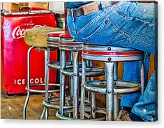Americana Break Time Acrylic Print