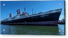 America's Flag Ship Acrylic Print by Marvin Spates