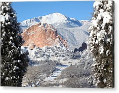 America's Mountain Acrylic Print by Eric Glaser