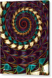 Americindian Acrylic Print