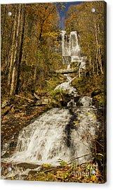 Amicola Falls Gushing Acrylic Print