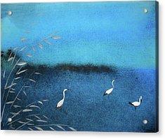 Amidst  The Rain And Gloom Acrylic Print