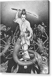 Amikiri Acrylic Print