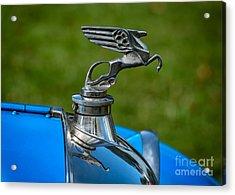 Amilcar Pegasus Emblem Acrylic Print by Adrian Evans