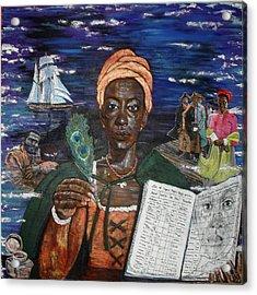 Aminata's Book Of Negroes Acrylic Print
