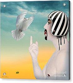 Amir Fun  Acrylic Print by Mark Ashkenazi