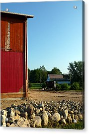 Amish Country Acrylic Print by Robert Babler