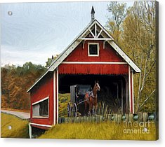 Amish Era Acrylic Print by Tom Griffithe