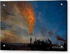 Amish Fireworks Acrylic Print