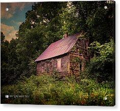 Amish House Acrylic Print