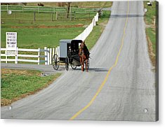 Amish Life Acrylic Print by Joyce Huhra