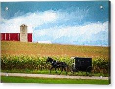 Amish Paradise Acrylic Print