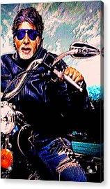 Amitabh Bachchan - Living Legend Acrylic Print