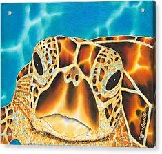Amitie Sea Turtle Acrylic Print