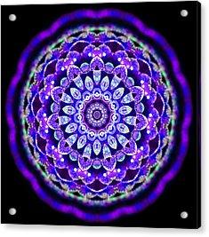 Ammersee Cropcircle Lightmandala Morph Acrylic Print