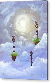 Among The Clouds Acrylic Print
