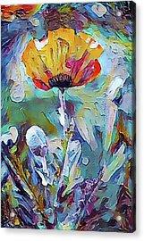 Among The Poppies II Acrylic Print