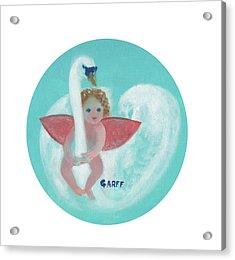 Amorino With Swan Acrylic Print