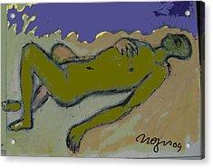 Amorphous Acrylic Print by Noredin Morgan
