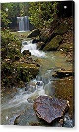 Amos Falls Kentucky Acrylic Print