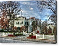 Amos Tuck House In Late Autumn Acrylic Print