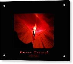Amour Eternel Acrylic Print