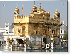 Amritsar Acrylic Print by Andrei Fried