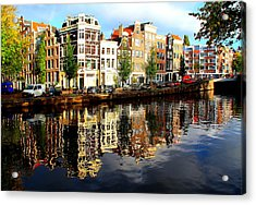 Amsterdam By Day Acrylic Print