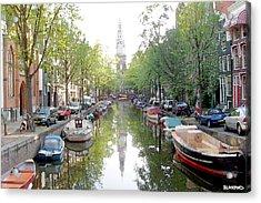 Amsterdam Canal Acrylic Print by Al Blackford