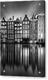 Amsterdam, Damrak II Acrylic Print