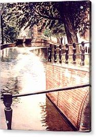Amsterdam Acrylic Print by L Lauter