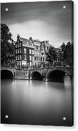 Amsterdam, Leliegracht Acrylic Print
