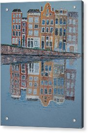 Amsterdam Acrylic Print by Marina Garrison