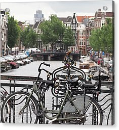 Amsterdam Acrylic Print by Rona Black