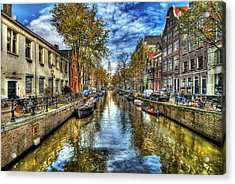 Amsterdam Acrylic Print by Svetlana Sewell